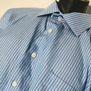 Egara Non Iron Slim Fit Dress Shirt Men's 18 34/35